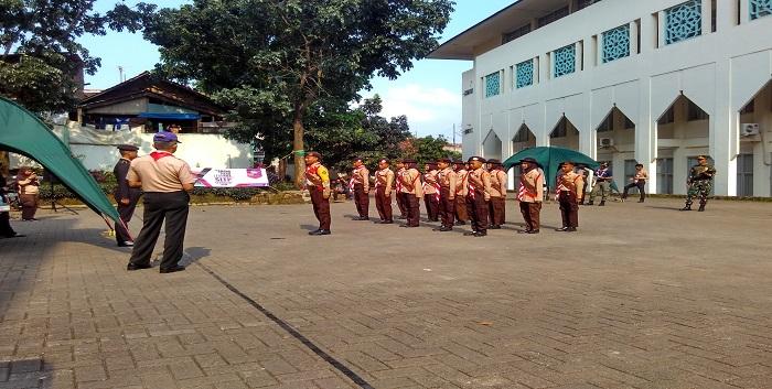 Gerakan Pramuka UIN Bandung Gelar LKBB - Jurnalposmedia com