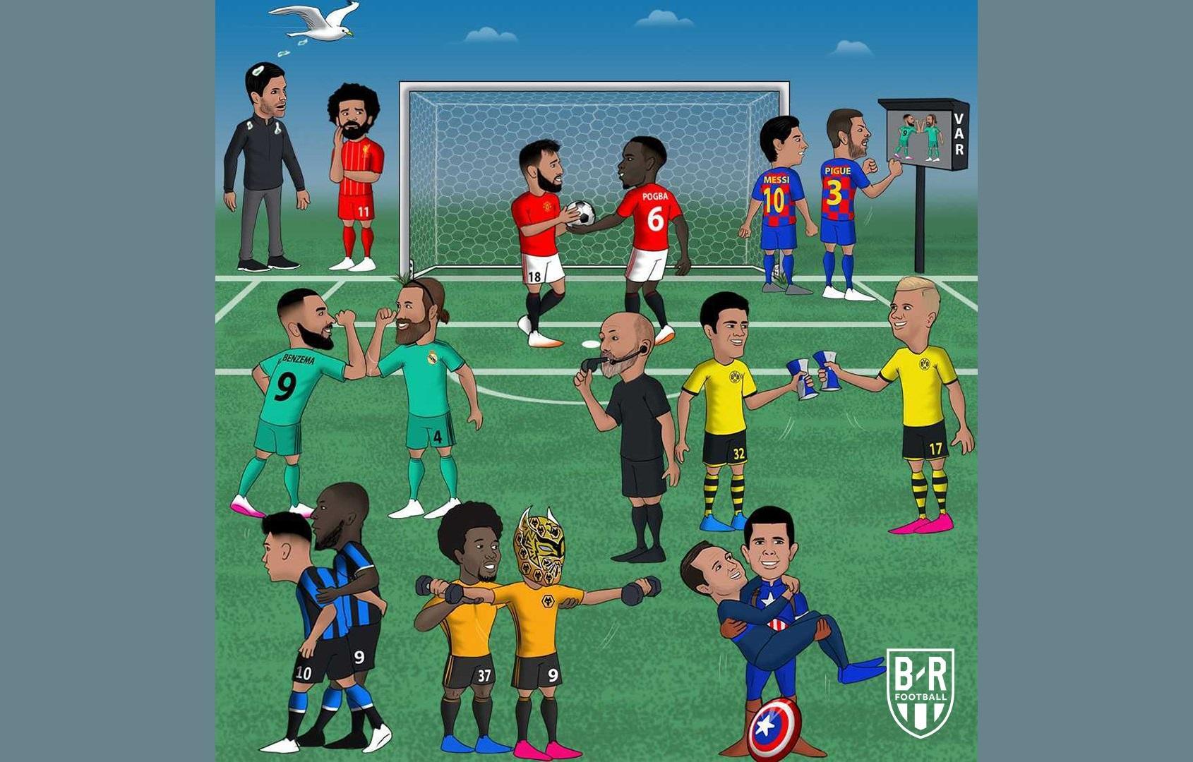 sepak bola di eropa