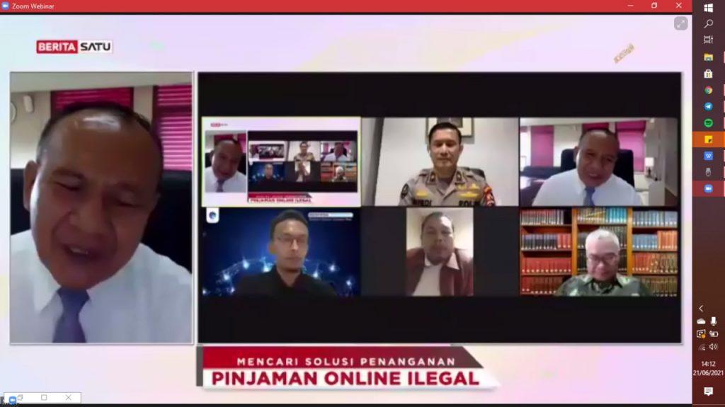 Piter Abdullah: Pinjol Ilegal, Praktik Kriminal Berkedok ...